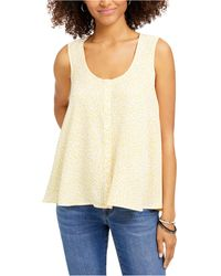 Style & Co. Printed Swing Blouse, Created For Macy's - Multicolour
