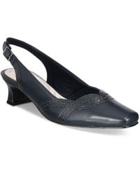 Easy Street Stunning Slingback Court Shoes - Blue