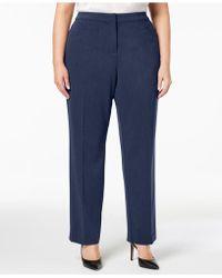 a917301418c1e Alfani - Plus   Petite Plus Size Modern Straight-leg Pants