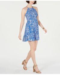 19 Cooper - Printed Shift Dress - Lyst
