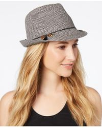 Nine West - Charms Packable Fedora - Lyst