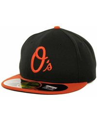 free shipping 976d3 7cd87 Baltimore Orioles Black White 9fifty Snapback Cap.  32. Macy s. KTZ - Baltimore  Orioles Authentic Collection 59fifty Hat - Lyst