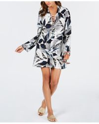 La Blanca - Moment Of Zen Garden Printed Tunic Cover-up - Lyst
