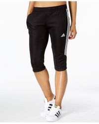 adidas Tiro Cropped Soccer Pants - Black