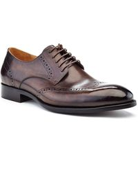 Ike Behar Hand Made Dress Shoe - Brown