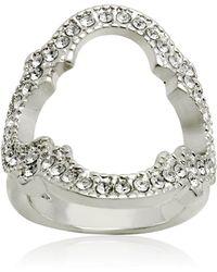 T Tahari Moroccan Metals Ring - Metallic