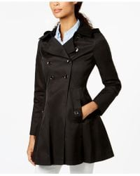Via Spiga | Hooded Skirted Trenchcoat | Lyst