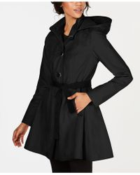 Laundry by Shelli Segal - Skirted Trench Coat - Lyst