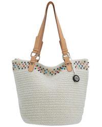 The Sak Silverwood Crochet Shopper - Multicolour
