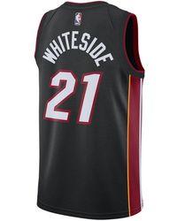 100% authentic 85d21 3ae34 adidas Men's Ray Allen Miami Heat Swingman Jersey in Black ...
