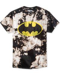 Bioworld - Men's Batman Tie-dye Graphic-print Cotton T-shirt - Lyst