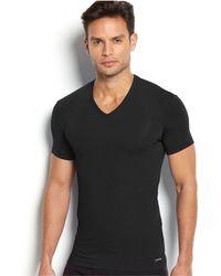 CALVIN KLEIN 205W39NYC - Men's V-neck Body Modal T-shirt U5563 - Lyst