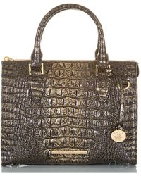 Brahmin Anywhere Convertible Melbourne Embossed Leather Satchel - Multicolor