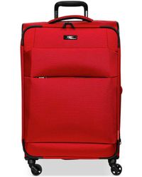 """Revo Airborne 32"""" Softside Expandable Spinner Suitcase - Red"""