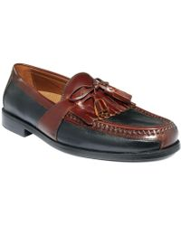 Johnston & Murphy Shoes, Aragon Ii Kiltie Tassel Loafers - Black