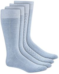 Alfani - 4-pk. Textured Socks, Created For Macy's - Lyst