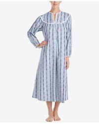Lanz of Salzburg - Ballet Lace-trim Cotton Nightgown - Lyst