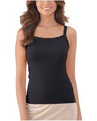 Vanity Fair Perfect Lace Reversible Camisole 17166 - Black