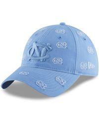 new styles a08ea 587c7 KTZ - North Carolina Tar Heels Logo Scatter Cap - Lyst