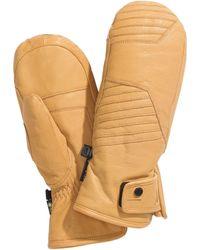 Spyder Turret Gtx Leather Ski Mittens - Multicolor