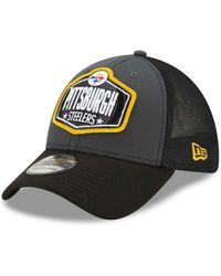 KTZ - Pittsburgh Steelers 2021 Draft 39thirty Cap - Lyst