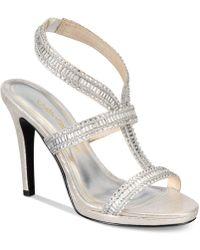 Caparros - Givenchy Strappy Platform Evening Sandals - Lyst