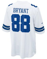 Lyst - Nike Men s Dez Bryant Dallas Cowboys Gridiron Jersey in Gray ... 7fe3f4692