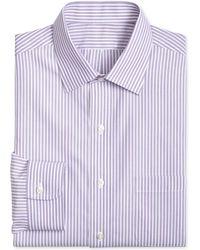 Brooks Brothers - Men's Classic/regular Fit Striped Dress Shirt - Lyst