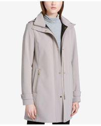CALVIN KLEIN 205W39NYC - Hooded Softshell Raincoat - Lyst