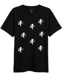 ELEVEN PARIS - Graphic T-shirt - Lyst
