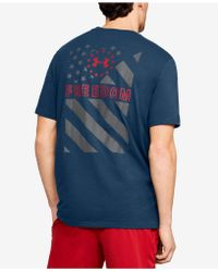Under Armour - Charged Cotton® Graphic T-shirt - Lyst
