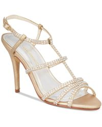 Caparros - Groovy Strappy Evening Sandals - Lyst