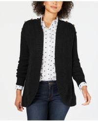 Charter Club - Petite Open-front Completer Cardigan, Created For Macy's - Lyst