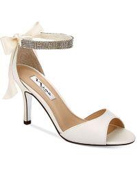 Nina - Vinnie Two-piece Evening Sandals - Lyst