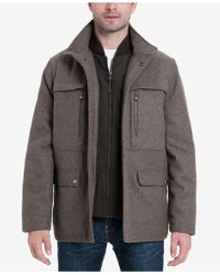 Michael Kors - Wool Blend Coat - Lyst