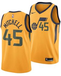 promo code a807c 92872 Nike Synthetic Donovan Mitchell Utah Jazz Hardwood Classic ...