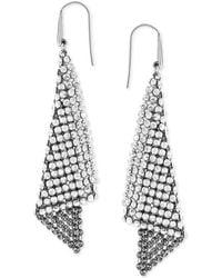 Swarovski - Earrings, Crystal Fan Earrings - Lyst