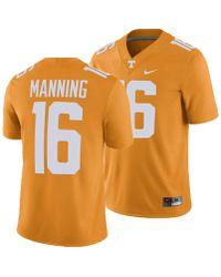 f2d9131bf8d Nike Tennessee Volunteers Dri-fit Cotton Stadium T-shirt in Orange for Men  - Lyst