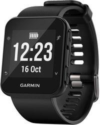 Garmin - Unisex Forerunner® 35 Black Silicone Strap Gps Running Smart Watch 24mm - Lyst