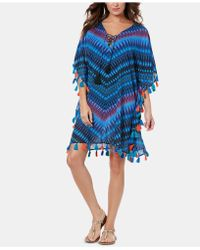 Miraclesuit Marrakech Caftan Cover-up - Blue