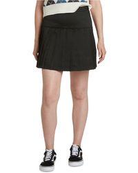 Dickies Seamed Pleated Skirt - Black
