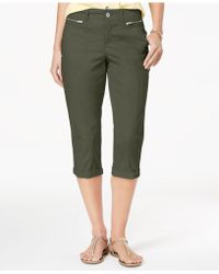 Style & Co. - Zipper-pocket Capri Pants, Created For Macy's - Lyst