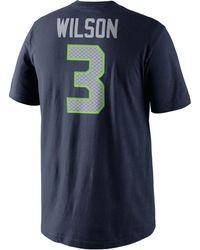 Nike - Men's Russell Wilson Seattle Seahawks Pride T-shirt - Lyst
