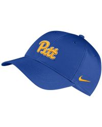 big sale ba3b1 8520a Nike Pittsburgh Panthers True Hardwood Seasonal Cap in Blue for Men - Lyst