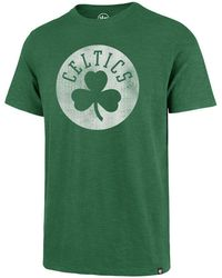 47 Brand - Boston Celtics Grit Scrum T-shirt - Lyst