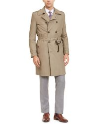 Calvin Klein - Slim-fit Double Breasted Military Raincoat - Lyst