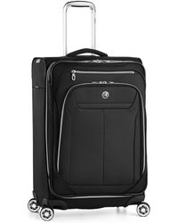 """Revo 25"""" Expandable Spinner Suitcase - Black"""