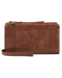 The Sak Silverlake Soft Wallet - Brown