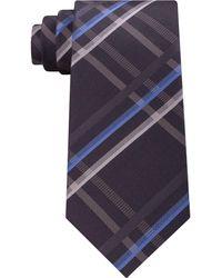 Kenneth Cole Reaction | Men's Grid Silk Tie | Lyst