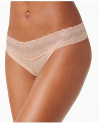 Natori - Bliss Perfection Lace-waist Thong 750092 - Lyst